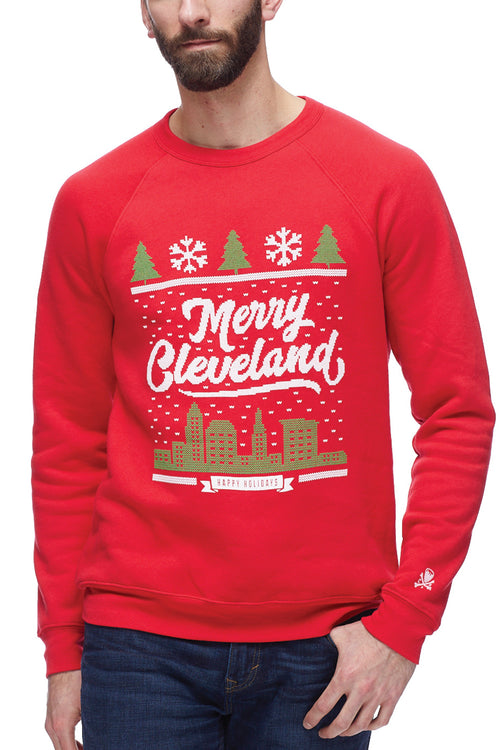 Merry Cleveland - Fleece Crew