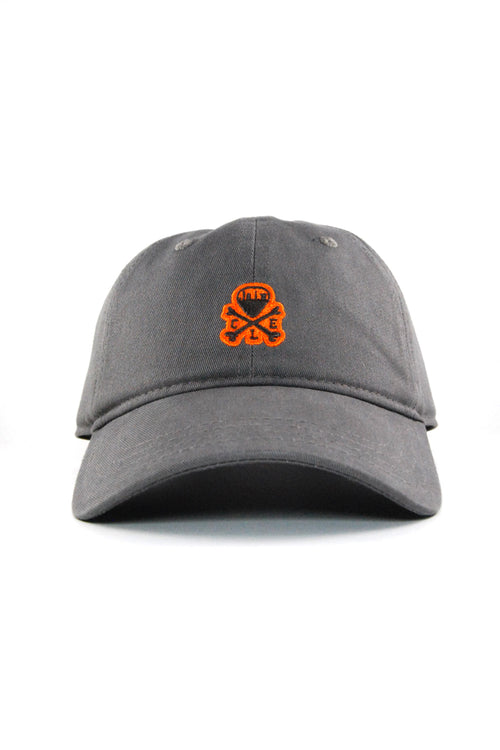 CLE Mini Logo Dad Hat - Brown/Orange - Grey