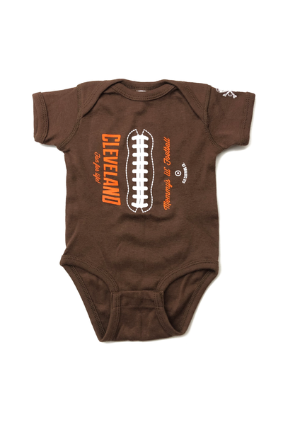 Mommys Lil Football - Onesie - CLE Clothing Co.