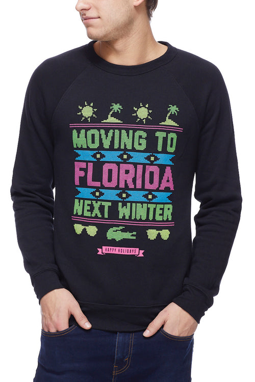 Moving to Florida Next Winter - Fleece Crew - CLE Clothing Co.