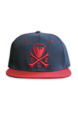 CLE Logo Fitted Cap - Navy