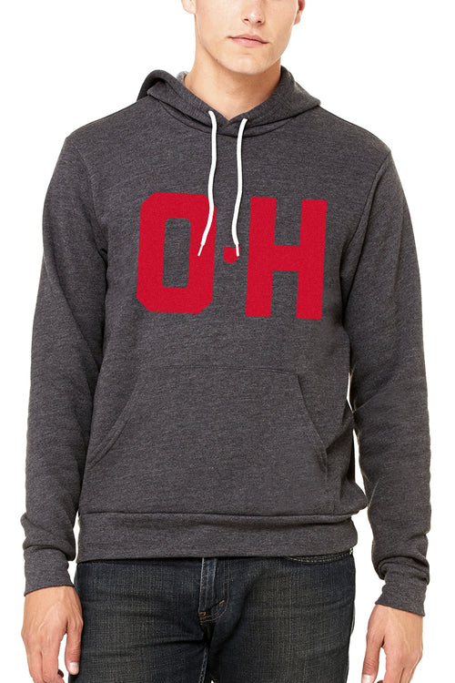 O-H - Unisex Pullover Hoodie - CLE Clothing Co.
