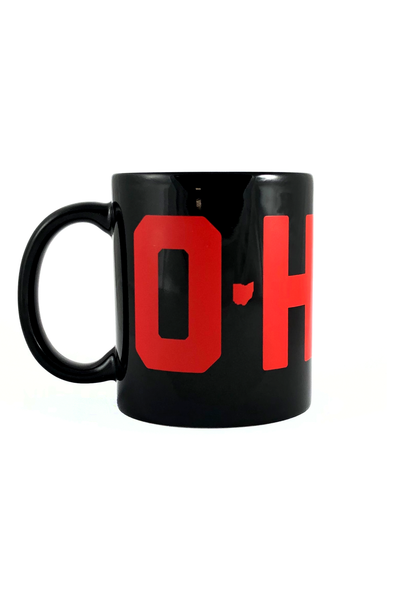 O-H-I-O Coffee Mug - CLE Clothing Co.