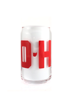 O-H-I-O Pop Can Glass - CLE Clothing Co.