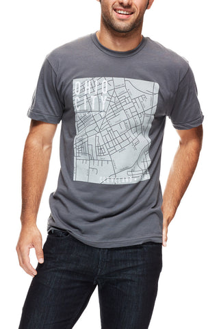 Ohio City Map - Unisex Crew