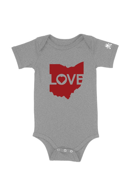 Ohio Love - Black - Sticker