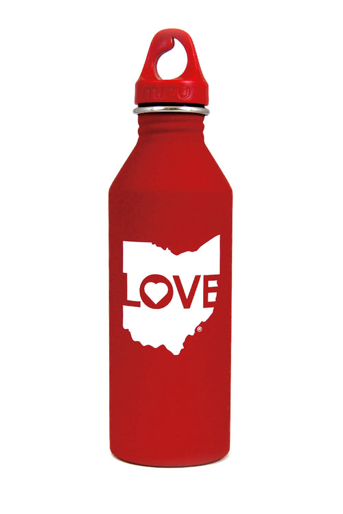 Ohio Love Logo - Mizulife® 27oz Water Bottle