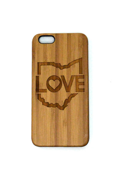Ohio Love iPhone Case