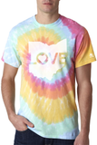 Ohio Love Tie Dye - Unisex Crew - LIMITED EDITION