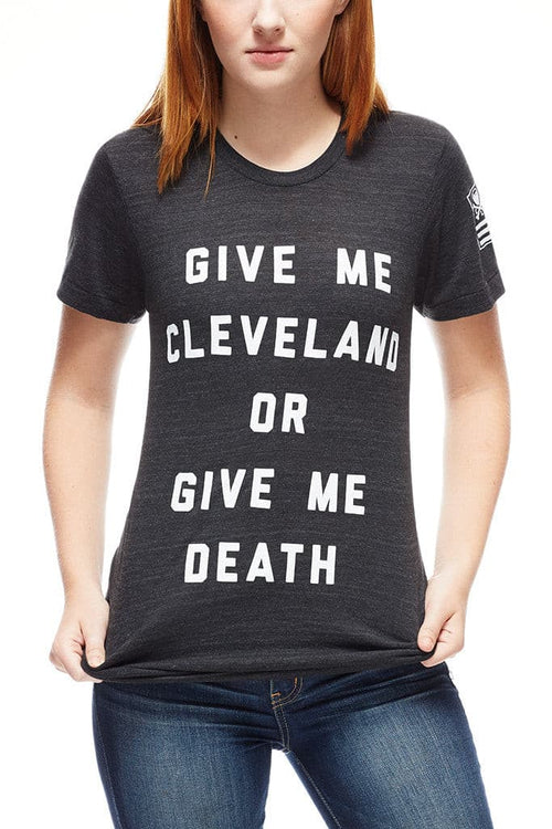 Give Me Cleveland Or Give Me Death - Unisex Crew - CLE Clothing Co.