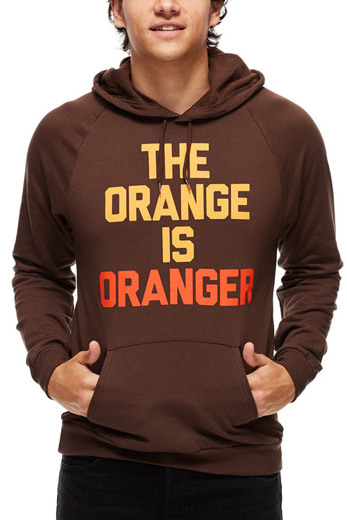 The Orange is Oranger - Pullover Hoodie