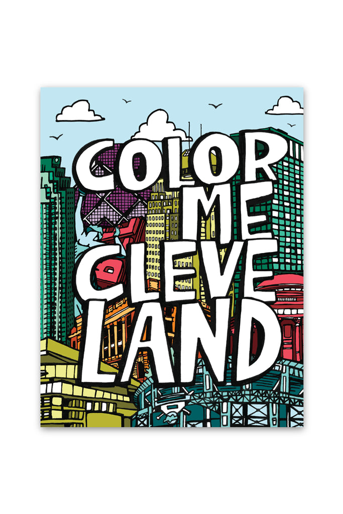Color Me Cleveland - Coloring Book – CLE Clothing Co.