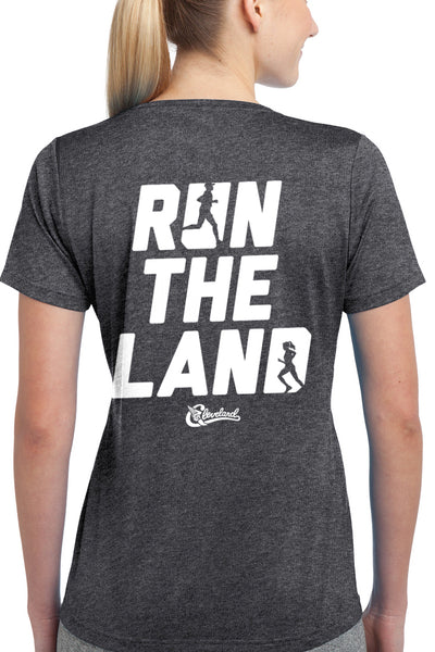 Run The Land - Womens Performance Tee