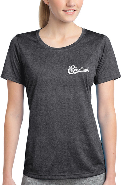 Run The Land - Womens Performance Tee - CLE Clothing Co.
