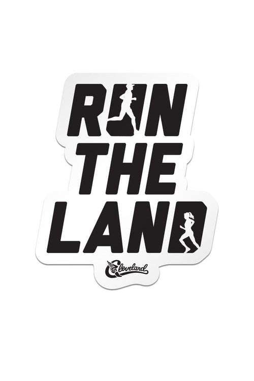 Run The Land Sticker