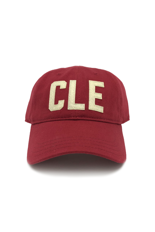 "CLE - ""Dad Hat"" - Red - CLE Clothing Co."