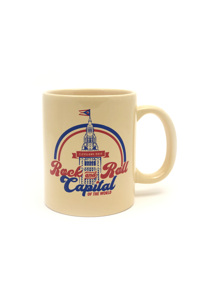 Capital of Rock n Roll Coffee Mug - CLE Clothing Co.
