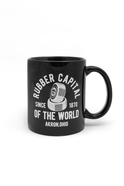 Akron Rubber Capital Coffee Mug - CLE Clothing Co.