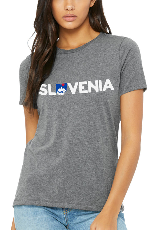 SLOVENIA - Womens Relaxed Fit Crew