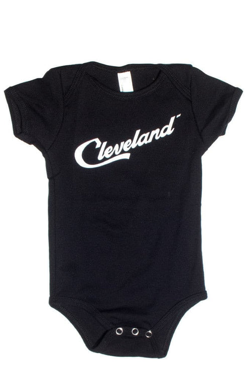 Cleveland Script - Onesie - CLE Clothing Co.
