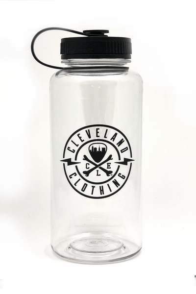 h2go® 34oz Wide Mouth Water Bottle - CLE Logo