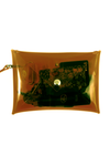 Clear Stadium Purse - Brown - CLE Clothing Co.