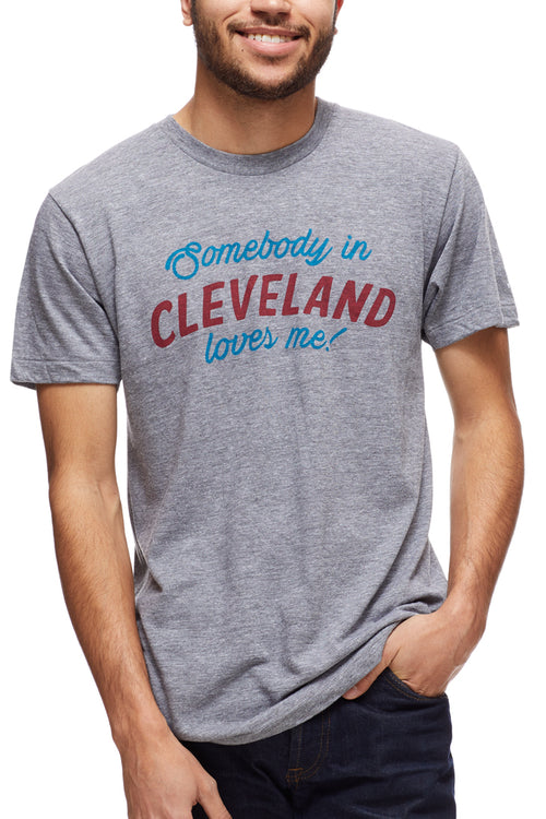 Somebody In Cleveland Loves Me - Unisex Crew