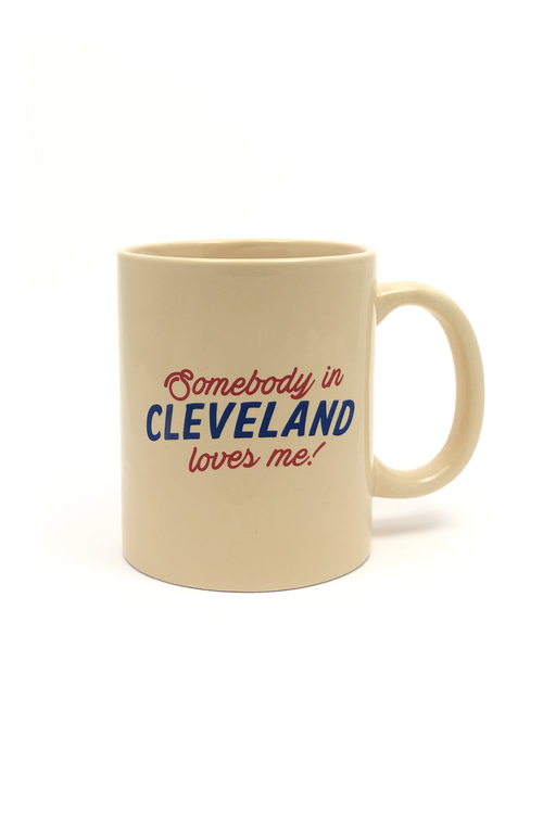 Somebody in Cleveland Loves Me Coffee Mug - CLE Clothing Co.