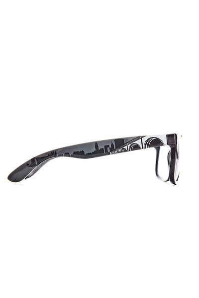 Cleveland Skyline Sunglasses - Black