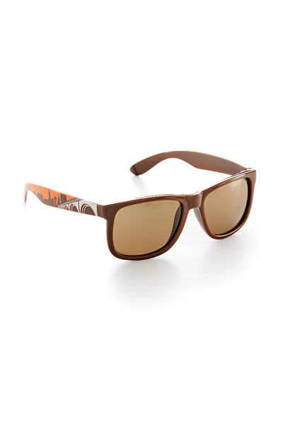 Cleveland Skyline Sunglasses - Brown/Orange