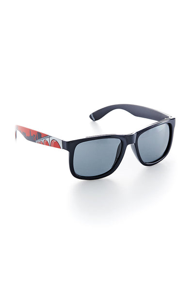 Cleveland Skyline Sunglasses - Navy/Red