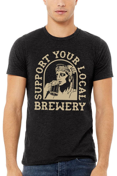 Support Your Local Brewery - Unisex Crew