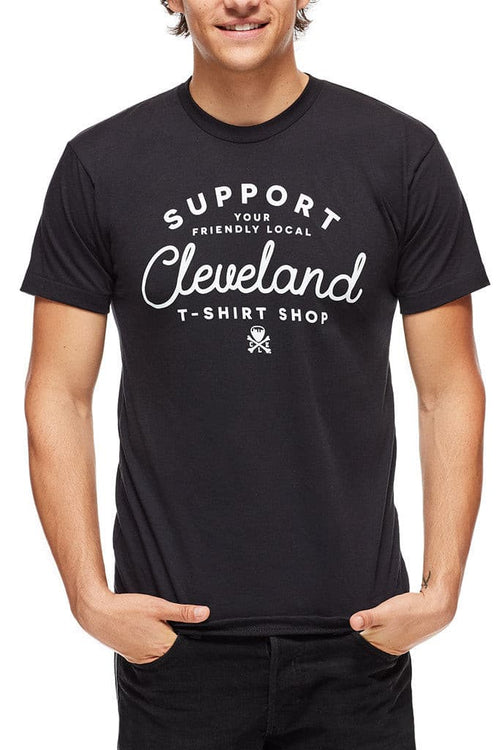 Friendly Local Tee Shirt Shop - Unisex Crew - CLE Clothing Co.