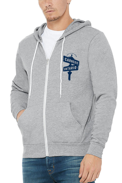 The Corner Where The Magic Happens - Unisex Zip Up Hoodie - CLE Clothing Co.