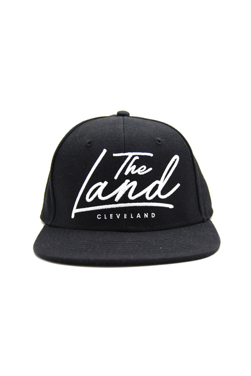 The Land Script - Black - Strap-Back