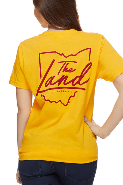 The Land Script - Unisex Crew - Gold
