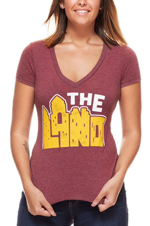 The Land - Women's V-Neck