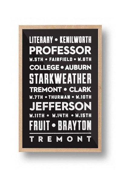 Tremont Streets Poster