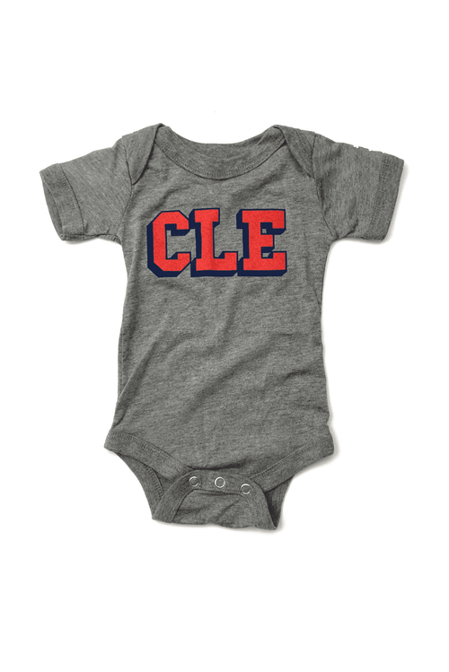 CLE College - Navy/Red - Onesie - CLE Clothing Co.