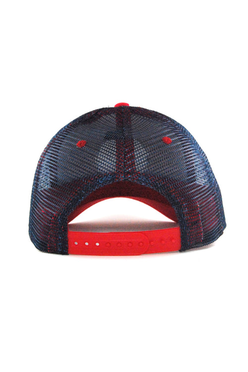 CLE Logo Trucker - Navy/Red - CLE Clothing Co.