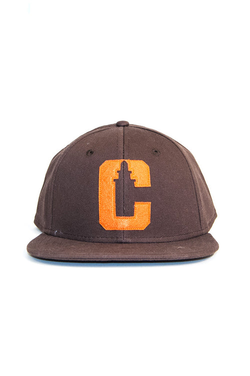 VarCity 2016 Snapback - Brown/Orange