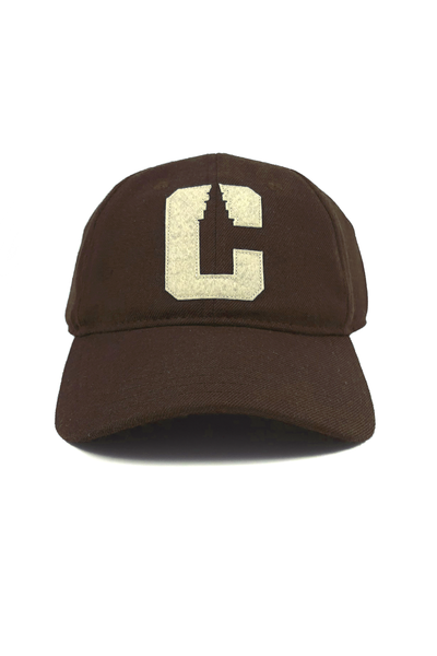 "VarCity ""Dad Hat"" - Brown - CLE Clothing Co."