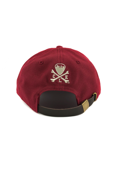 "VarCity ""Dad Hat"" - Maroon - CLE Clothing Co."