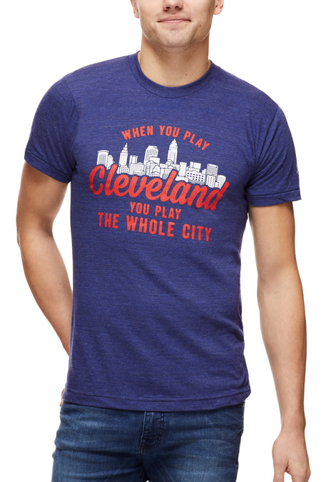 CLE College - Navy/Red - Unisex Tank