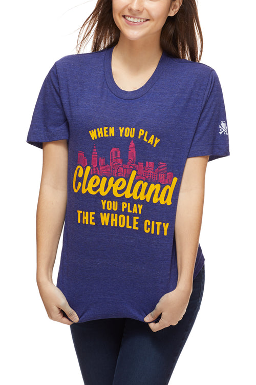 When You Play Cleveland... - Hardcourt - Unisex Crew