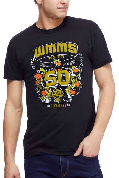 00b3e3f6 WMMS 50th Anniversary - Unisex Crew – CLE Clothing Co.