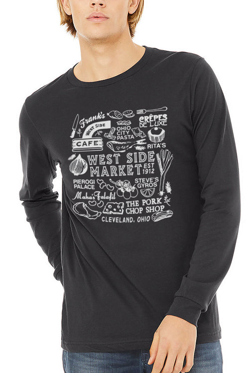 WSM Collage - Unisex Long Sleeve Crew - CLE Clothing Co.