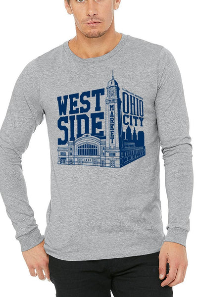 WSM Building - Unisex Long Sleeve Crew - CLE Clothing Co.