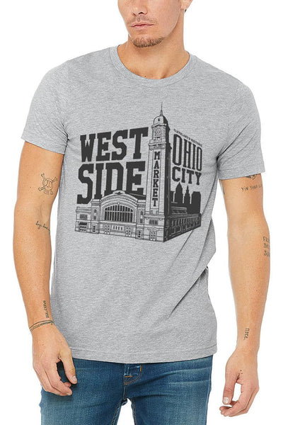 WSM Building - Unisex Crew - Grey - CLE Clothing Co.