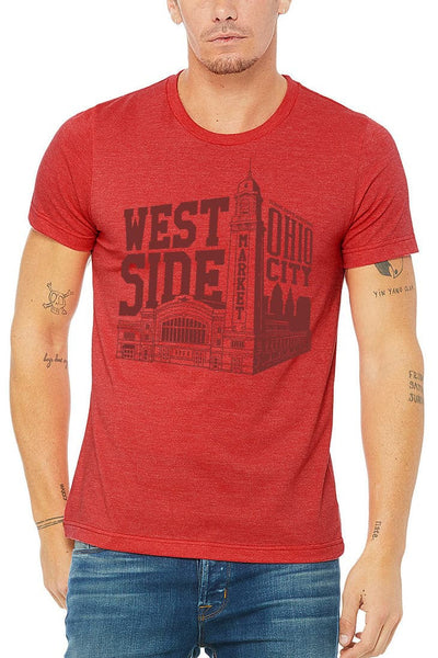 WSM Building - Unisex Tee - Red - CLE Clothing Co.